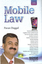 Mobile Law, 3rd Edn. - Book written by Pavan Duggal
