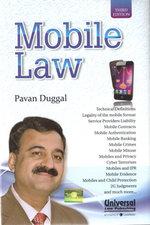 Mobile Law, 3rd Edn. - Book written by Pavan Duggal