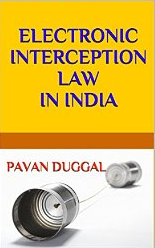 Electronic Interception law in India Book Image
