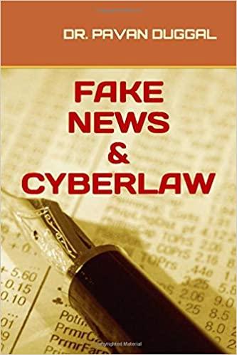 FAKE NEWS & CYBERLAW (Paperback)