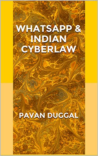 WHATSAPP & INDIAN CYBERLAW
